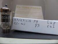 1x ECC83 Valvo/Philips # I68/Δ Code 12AX7 Testet NOS Röhre Tube