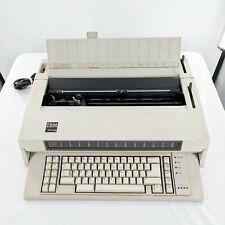 Vintage Ibm Wheelwriter 6 Type 674x Electronic Typewriter 1986 Tested Works