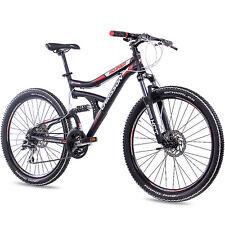"26"" pulgadas MTB Alu mountainbike bicicleta chrisson roaner 2016 24g Shimano negro"