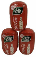 3x Coca-Cola Flavored Tic Tac's Coke LIMITED EDITION 3.4 OZ Bb7/21    Y