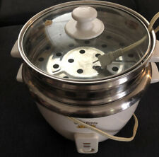 Lotus Foods Gourmet 12-Cup Stainless Steel Rice Cooker and Steamer (plant-based)
