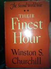 Their Finest Hour By Winston S Churchill