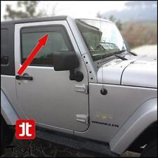 Déflecteurs de vent pluie air teintées Jeep Wrangler JK 3p et 5p Unlimited