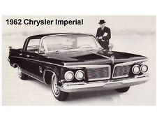 1962 Chrysler Imperial Crown Auto Car Refrigerator / Tool Box Magnet