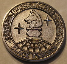 31st Special Operations Sq Commander's Pararescue Air Force Challenge Coin / PJ