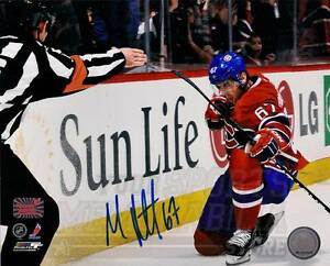 Max Pacioretty Montreal Canadiens Signed Autographed Fist Pump 16x20 Max Holo