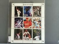 Home Run Kings  mint never hinged  stamps sheet R25382