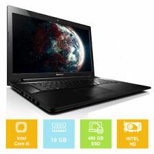 "17.3"" Lenovo G70-70, Intel i5 up to 2.70GHz, 480GB SSD, 16GB, Intel HD, Laptop"