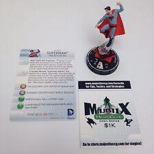 Heroclix Superman / Wonder Woman set Superman (Red Son) #065 Chase figure w/card