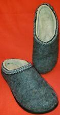 L. L. Bean Women's Wool Clogs/Mules/Slippers Size 9M Gray