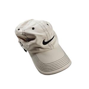 Nike Golf Hat Cap SQ Sasquatch One Mens Tan Embroidered Adjustable Dri Fit