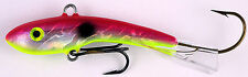 "MOONSHINE LURES HOLOGRAPHIC  SHIVER MINNOW SIZE #1 2-1/4"" 3/8 oz  CRANBERRY SHAD"