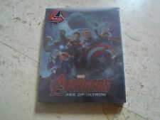 Marvel THE AVENGERS AGE OF ULTRON LENTICULAR SLIPCOVER *NEW* Blu-Ray SteelBook