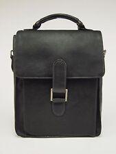 LATICO Colombian Leather Medium Crossbody Tablet Shoulder Brief Bag