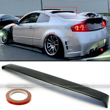 For Infinit G35 03-06 2DR Coupe ABS Rear Roof Window Visor Vent Deflect Spoiler