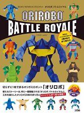 """NEW"" ORIGAMI Robot Folding Diagram Book | JAPAN Japanese Paper Craft Art"