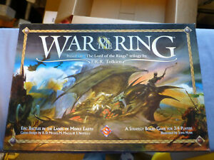 War of the Ring & Lords of Middle Earth, Board Game, Pre-Owned, Free Shipping