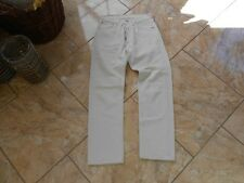H0396 Levis 501 Jeans W28 Creme ohne Muster
