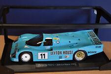 "Norev 1/18 Porsche 962 C ""Leyton House"" 4th 24hrs LM 1987 (1 of 1000 Pcs) NEW!"