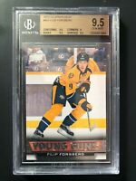 2013-14 Upper Deck Filip Forsberg Young Guns Rookie BGS 9.5