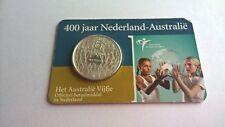 Nederland 2006 Coincard 5 Euro Zilver 400 Jaar Nederland-Australië