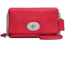 NWT Coach Crosstown Crossbody In Polished Pebble Leather 53083