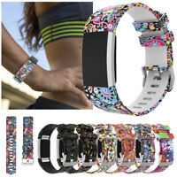 For Fitbit Charge 2 Replacement Smart Watch Strap Bracelet Wrist Band Silicone