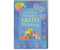 Usborne Illustrated Elementary Math Dictionary (Flex-cover) FREE shipping $35