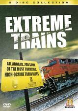 EXTREME TRAINS 5 DVDSET THRILLING HIGH-OCTANE TRAIN RIDES HISTORY CHANNEL