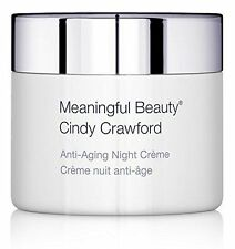 Cindy Crawford's Meaningful Beauty Anti-Aging NIGHT CREAM .5 oZ / 15ml