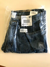 Mens Denim Jeans Pants Eddie Bauer Relaxed Fit Medium Stonewash 32 X 34 NWT