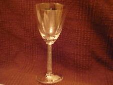 LALIQUE Crystal PHALSBOURG Claret wine glass signed NIB!! Gorgeous!!
