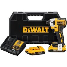 DEWALT DCF887D2 2.0 AH 20V MAX XR 1/4 in. 3-Speed Impact Driver Kit