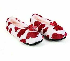 Winter Warm Shoes For Girls Comfortable Flat Slippers Home Indoor Soft Footwear