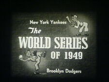 16MM SOUND-1949 WORLD SERIES-BROOKLYN DODGERS VS. NY YANKEES-FIVE GAME SERIES