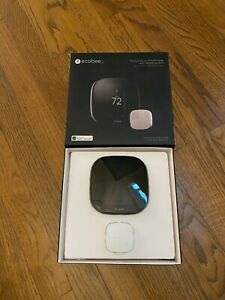 ecobee3 2nd Generation Smart Wi-Fi Thermostat  - Black (EB-STATE3-O2)