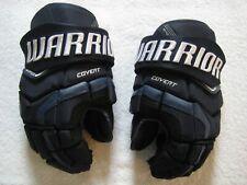 """New ListingWarrior Covert Qr Edge Senior Ice Hockey Gloves - Navy 14"""" (Used)"""