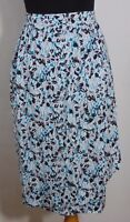 Country Sophisticates Vintage Women's Floral Print Knee Length Skirt Size 6