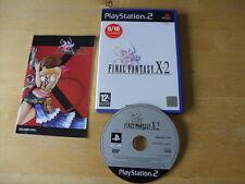PLAYSTATION 2 / PS 2 - Final Fantasy X-2 (Sony PlayStation 2, 2004) FREE UK P&P