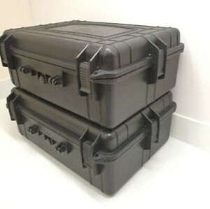 Peli Style Storage Case  Panniers complete with Foam Large Missing Handles