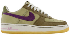 '05 Nike Air Force 1 PRM Uptowns/ Wmns 11 - Mens 9.5/ Green & Purple/ 308038351