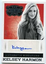 Kelsey Harmon 2014 Panini Country Music Authentic Signature Silver Auto #D /25