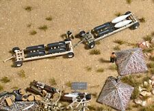HO 1:87 Busch # 9606 Bomb Trailers & Accessories KIT use with Minitanks