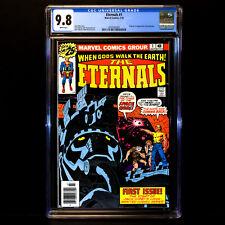 THE ETERNALS #1 🔥 Origin & 1st appearance Eternals Ikaris Kro 🔥 CGC 9.8  WHITE