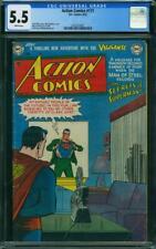 Action Comics #171 CGC 5.5 DC 1952 Superman! JLA! White Pages! K7 201 1 cm
