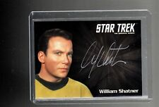 Star Trek TOS 50th Anniversary William Shatner autograph card