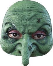 Morris Costumes Latex Halloween Horror Half Witch Mask. TA493