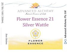 Flower Essence #21 Strength - Advanced Alchemy 25ml Silver Wattle