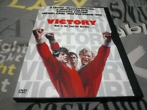 Victory (Escape to Victory) R1 snap, keep case DVD Sylvester Stallone.  Used