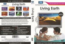 Living Earth Music by Bach Transform Your TV into a Beautiful Landscape DVD NEW